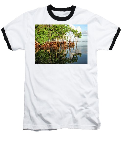 Trees In The Sea Baseball T-Shirt