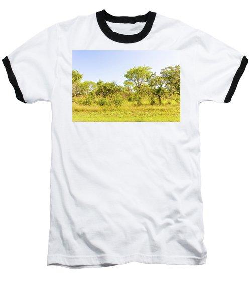 Trees In Zambia Baseball T-Shirt