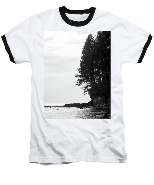 Trees Over The Ocean Baseball T-Shirt