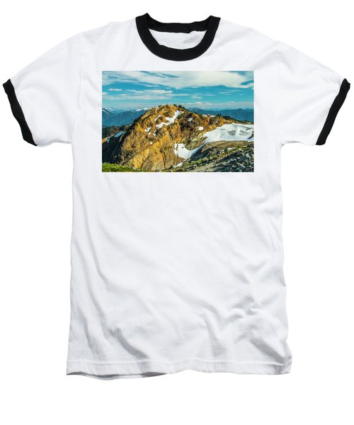 Trekking Into Camp Baseball T-Shirt