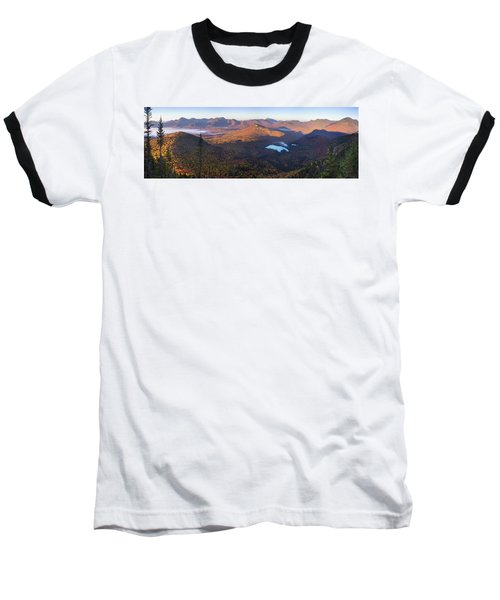 Tremont Autumn Morning Panorama Baseball T-Shirt