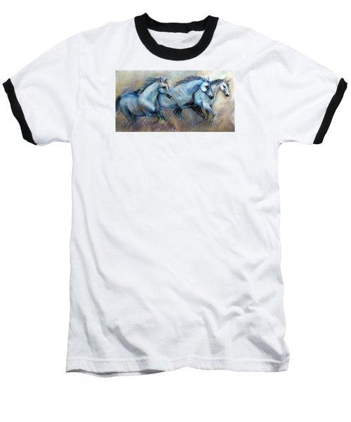 Tres Amigos Tshirt Baseball T-Shirt by Loretta Luglio
