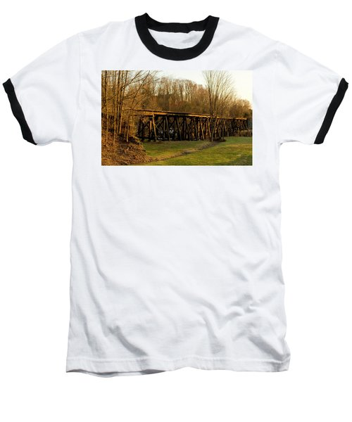 Tressel View Sunset  Baseball T-Shirt