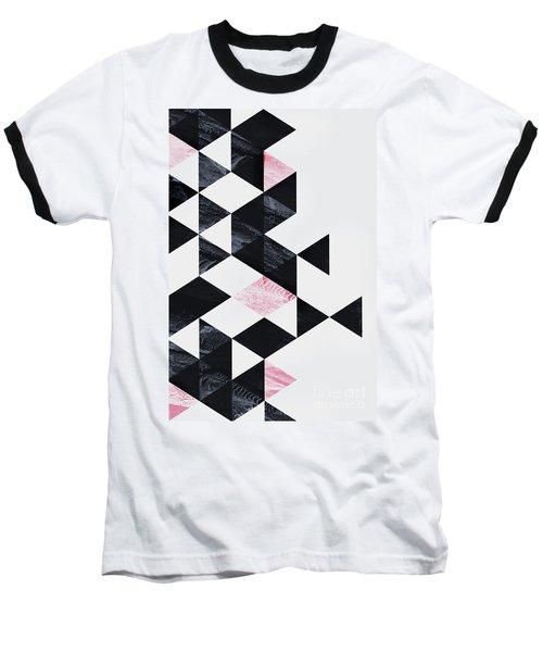 Triangle Geometry Baseball T-Shirt