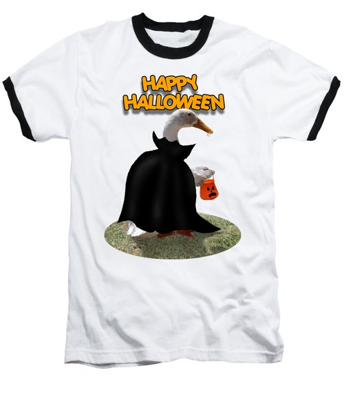 Trick Or Treat For Count Duckula Baseball T-Shirt