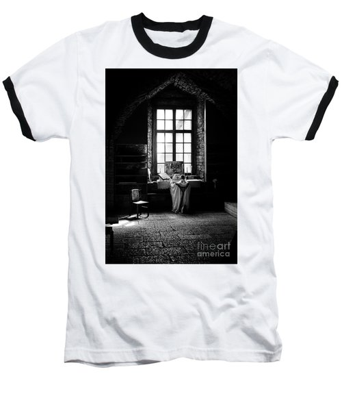 Tridentine Mass In An Ancient Chapel In The Old Dominican Monastery In Tallinn Baseball T-Shirt