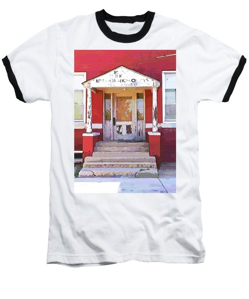 Trinity Or Trinidad Baseball T-Shirt by Cynthia Powell