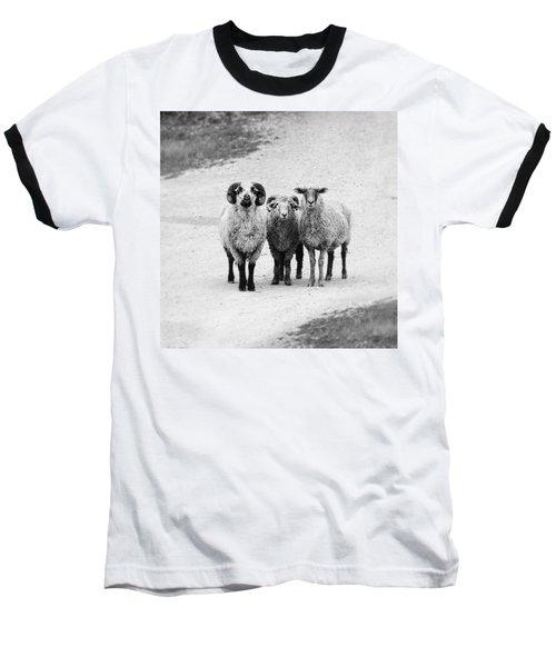 Trio #1478 Baseball T-Shirt by Andrey Godyaykin