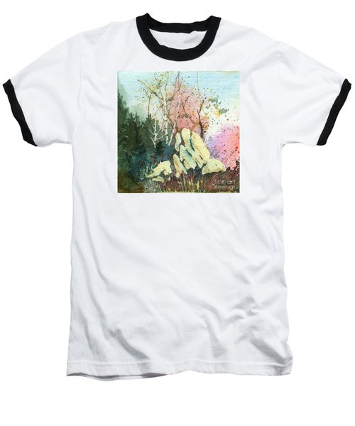 Triptych Panel 1 Baseball T-Shirt