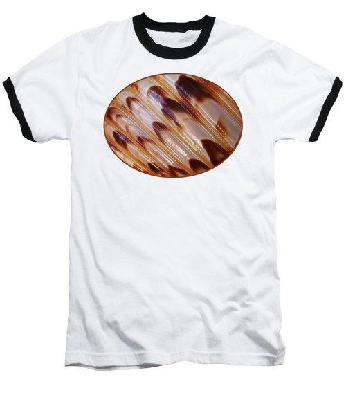 Triton Seashell Abstract Baseball T-Shirt