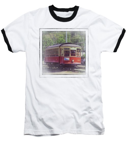 Trolley Car 42 Baseball T-Shirt