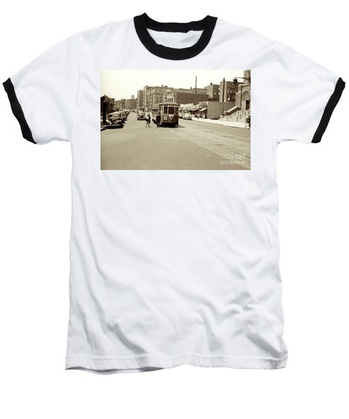 Baseball T-Shirt featuring the photograph Trolley Time by Cole Thompson
