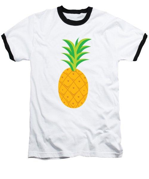 Tropical Fruits Ananas Pineapple Baseball T-Shirt