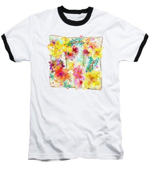 Tropicana Abstract By Kaye Menner Baseball T-Shirt