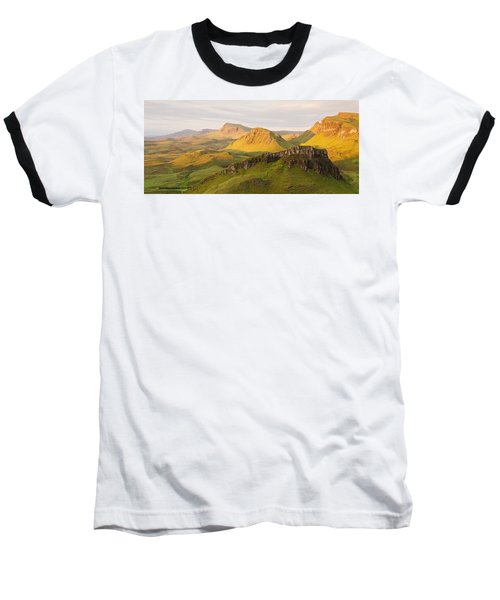 Trotternish Summer Panorama Baseball T-Shirt