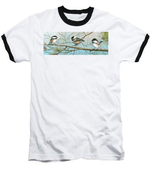 Troublesome Trio Baseball T-Shirt