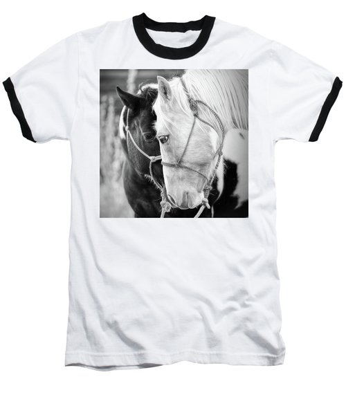 Baseball T-Shirt featuring the photograph True Friends by Sharon Jones
