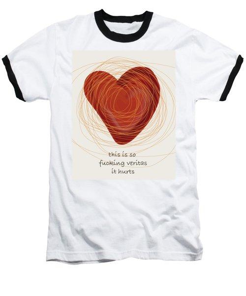 Baseball T-Shirt featuring the painting True Love by Frank Tschakert