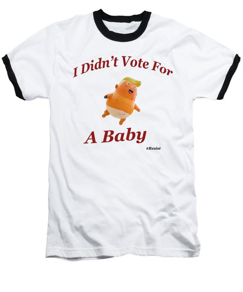 Trump Baby Blimp Baseball T-Shirt