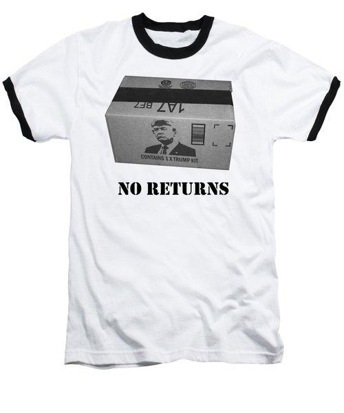 Trump Box Baseball T-Shirt