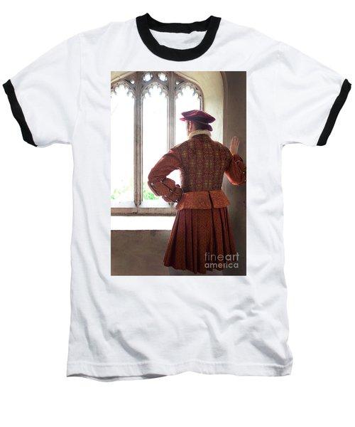 Tudor Man At The Window Baseball T-Shirt