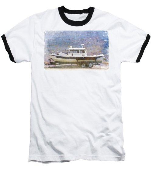 Tugboat Baseball T-Shirt by Cynthia Powell