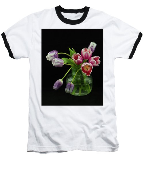 Tulip Bouqet Baseball T-Shirt