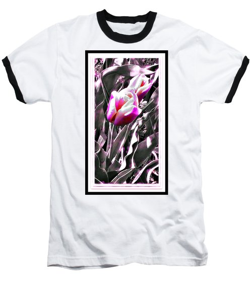 Tulip In Magenta Baseball T-Shirt