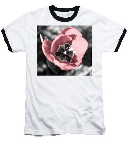 Tulip Up Close Baseball T-Shirt