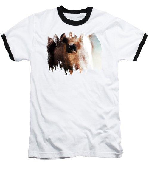 Tumbleweed Up Close Baseball T-Shirt by Anita Faye