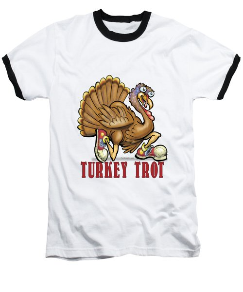 Turkey Trot Baseball T-Shirt
