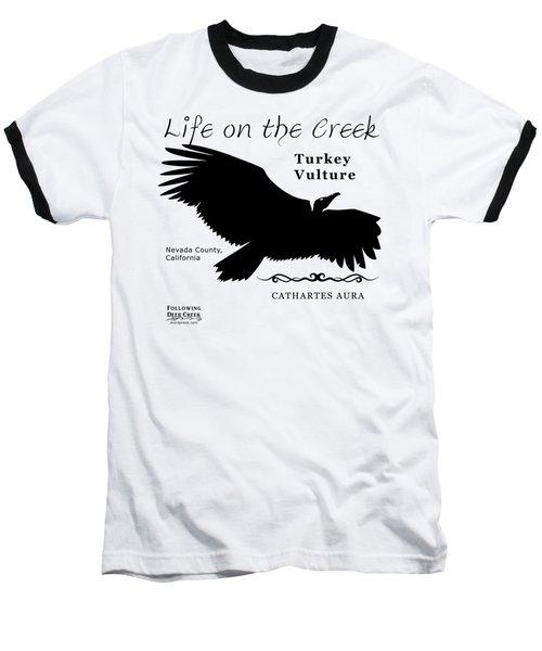 Turkey Vulture Baseball T-Shirt