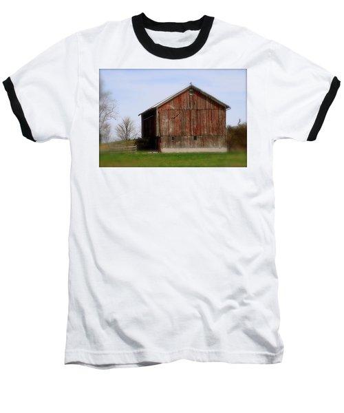 Turkey Vultures Hovering Around The Barn Baseball T-Shirt