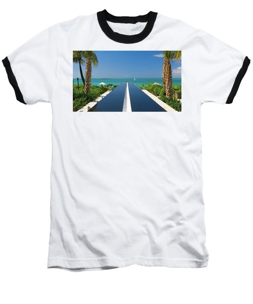 Turks And Caicos Baseball T-Shirt