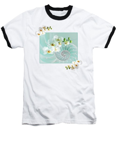 Turquoise Fusion Baseball T-Shirt