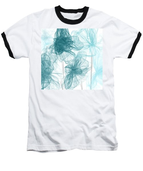 Turquoise In Sync Baseball T-Shirt