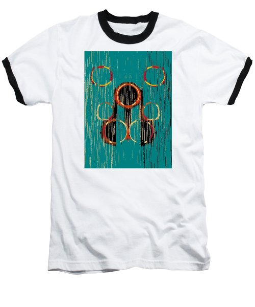 Turquoise Rings Baseball T-Shirt