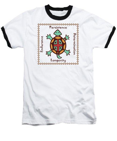 Turtle Animal Spirit Baseball T-Shirt
