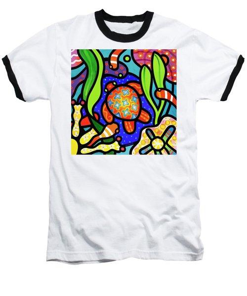 Turtle Reef Baseball T-Shirt