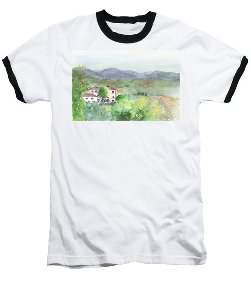 Tuscan Vineyards Baseball T-Shirt