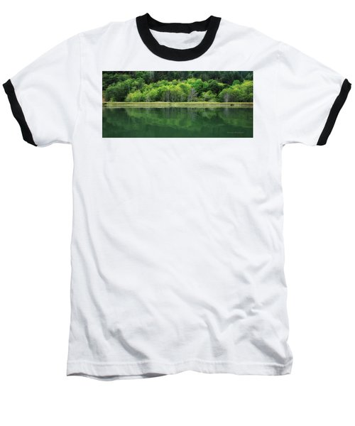 Twilight Glow Baseball T-Shirt by Donna Blackhall