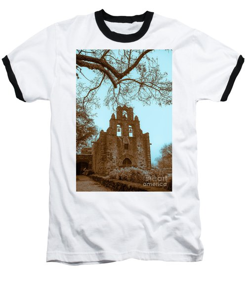 Twilight In The Mission Baseball T-Shirt