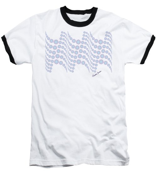 Twilight Ocean Baseball T-Shirt