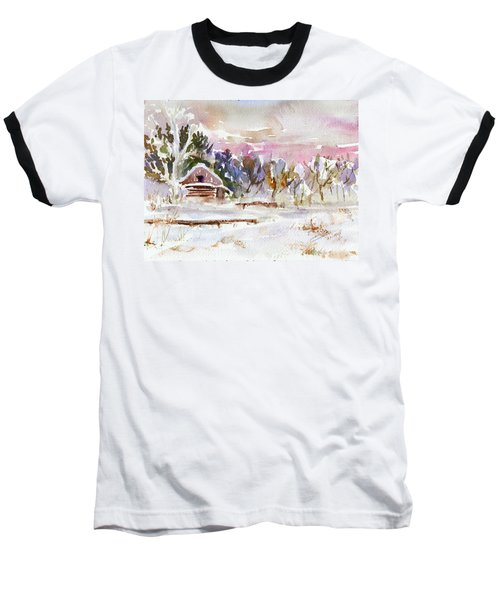 Twilight Serenade I Baseball T-Shirt by Xueling Zou