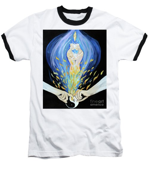Twin Flame - Alive Baseball T-Shirt