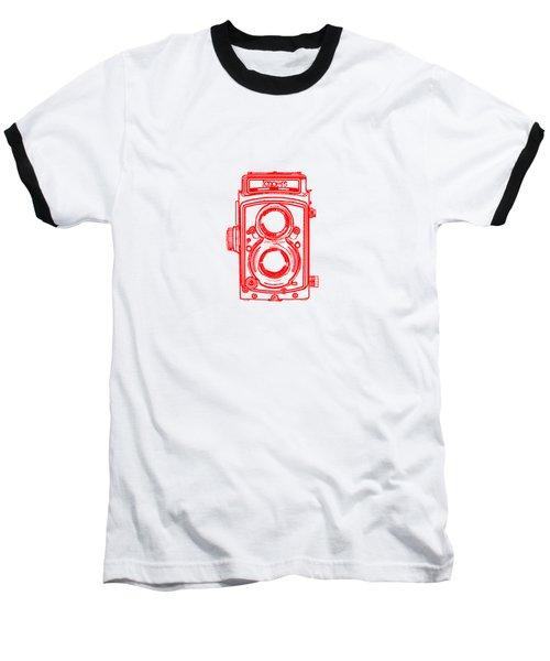 Twin Lens Camera Baseball T-Shirt