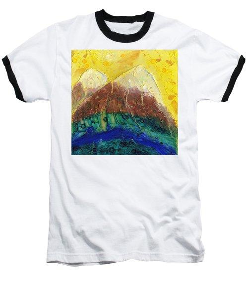 Twin Peaks I Baseball T-Shirt by Phil Strang