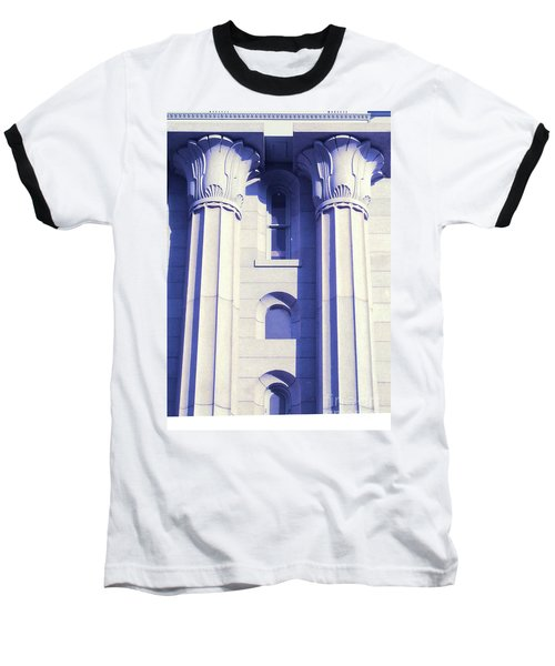 Two Columns Baseball T-Shirt