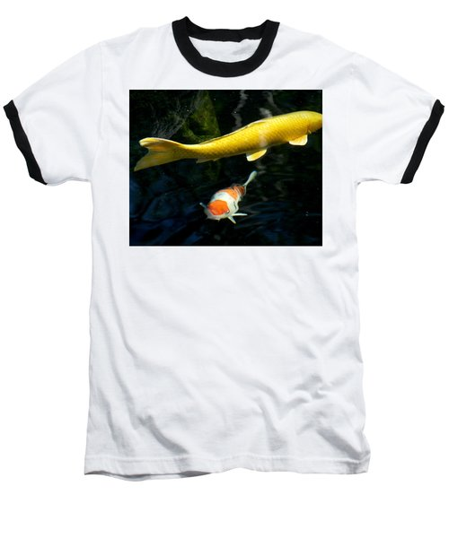 Baseball T-Shirt featuring the photograph Two Fish by Christopher Woods
