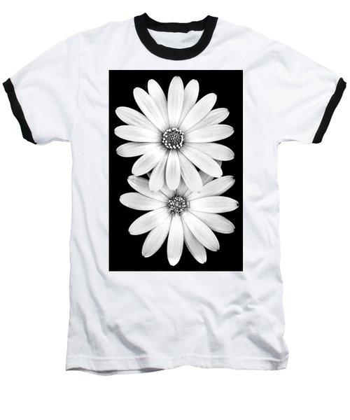 Two Flowers Baseball T-Shirt